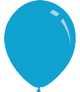 "12"" Pastel Baby Blue Decomex Latex Balloons (100 Per Bag)"