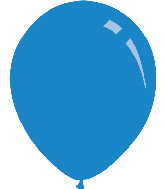 "9"" Pastel Royal Blue Decomex Latex Balloons (100 Per Bag)"