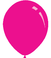 "9"" Metallic Hot Pink Decomex Latex Balloons (100 Per Bag)"