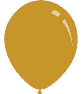 "9"" Metallic Gold Decomex Latex Balloons (100 Per Bag)"