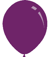 "9"" Metallic Purple Decomex Latex Balloons (100 Per Bag)"