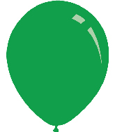 "9"" Metallic Green Decomex Latex Balloons (100 Per Bag)"