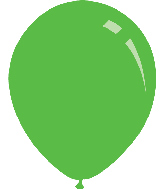 "12"" Metallic L. Green Decomex Latex Balloons (100 Per Bag)"