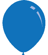 "12"" Metallic Blue Decomex Latex Balloons (100 Per Bag)"