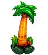 """58"""" Airfill Only Airloonz Consumer Inflatable Palm Tree Foil Balloon"""
