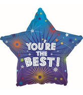 "18"" You're the Best Star Foil Balloon"