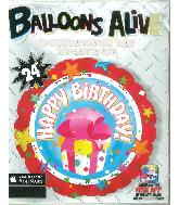 "24"" Happy Birthday Balloons"