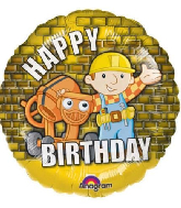"18"" Happy Birthday Bob the Builder Balloon"