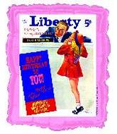 "23"" Liberty Psst! It&#39s My Birthday B203"
