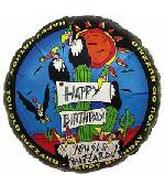"18"" Happy Birthday Old Buzzard"