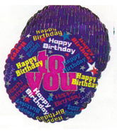 "18"" Happy Birthday To You (Different Scripts)"