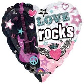 "18"" Love Rocks Balloon"