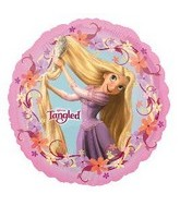 "18"" Tangled Movie Pink Balloon"