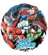 "18"" Justice League HBD Party Balloon"