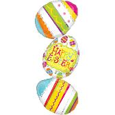 "39"" Large Shape Easter Egg Stacker"
