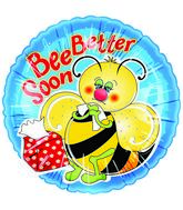 "20"" Bee Better Soon Fuzzies Balloon"
