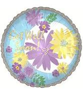 "18"" Get Well Floral Blooms"
