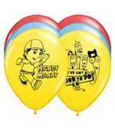 "11"" Handy Manny Latex Balloons"