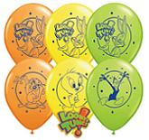 "11"" Looney Tunes Assortment Latex Balloons"