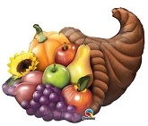 "32"" Cornucopia Shape Balloon"