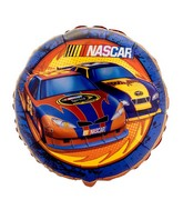 "18"" NASCAR Race Licensed Mylar Balloon Retail Packaged"