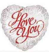 "2"" I Love You Script White M360"