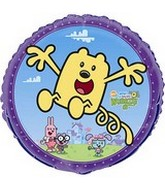 "18"" Wubbzy Mylar Party Balloon"