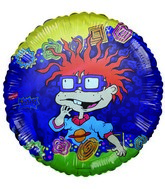 "18"" Licensed Rugrats Purple Chucky Foil Balloons"
