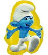 "25"" Clumsy Smurf Shape Mylar Balloon"