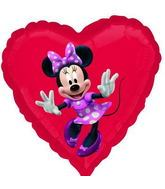 "18"" Minnie Mouse No Message Mylar Balloon"