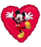 "18"" Mickey Mouse No Message Mylar Balloon"
