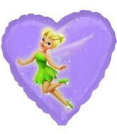 "18"" Disney Tinkerbell No Message Mylar Balloon"