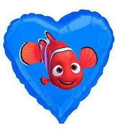 "18"" Finding Nemo No Message Mylar Balloon"