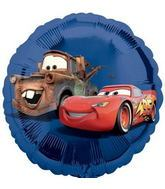 "18"" Disney Cars No Message Mylar Balloon"