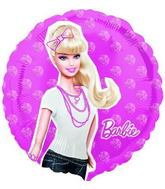 "18"" Barbie No Message Mylar Balloon"