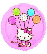 "18"" Hello Kitty No Message Mylar Balloon"