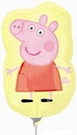 "12"" Peppa Pig Airfill Only Balloon"