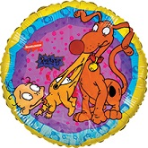 "18"" Rugrats & Spike Mylar balloon"