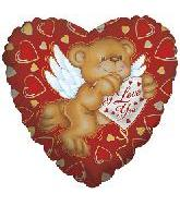 "4"" Airfill Only Cupid Bear I Love You"