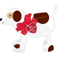 "22"" Airwalker Valentines Day Dog"