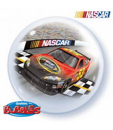 "22"" NASCAR Racers Licensed Character Bubble Balloons"