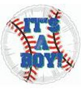 "9"" Airfill It's a Boy baseball M376"