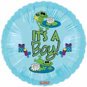 "18"" Froggy Fun Boy It�s a Boy"