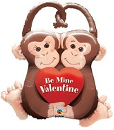 "24"" I&#39m Hooked on You Valentine&#39s Day Monkeys"