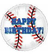 "9"" Airfill Happy Birthday Baseball T5"