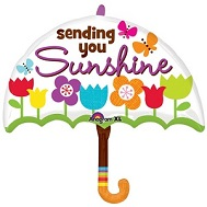 "30"" Sending You Sunshine Umbrella"
