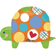 "28"" Polka Dot Turtle SuperShape"