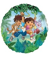"18"" Dora And Diego Balloon"