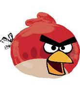 "23"" Angry Birds Red Shape Balloon"