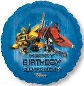 "18"" Transformers Happy Birthday Autobot!"